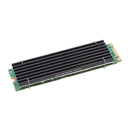 Storage Graphics Intel (Advancing Gene PCIe NVMe M.2 SSD Heatsinks Cooler with Nano Silicone Thermal Pad)