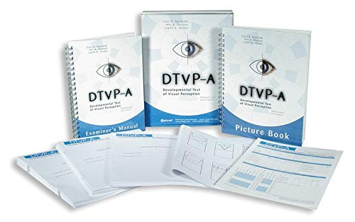 Developmental Test of Visual Perception-Adolescent and Adult (DTVP-A) Complete Kit
