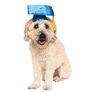 Rubie's Blue Graduation Hat Pet Accessory, Small/Medium