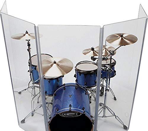 Drum Shield DS4 L 5 Section Flexible Hinges