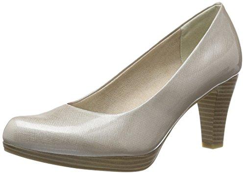 404 De Tozzi Mujer dune Tacón 22409 Beige Zapatos Marco TgqAv