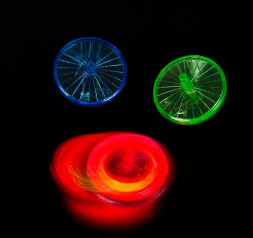 1.75'' LIGHT UP SPIN TOP, Case of 504