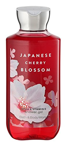 ignature Collection Shower Gel, Japanese Cherry Blossom, 10 fl. oz. (Japanese Cherry Blossom Gift)