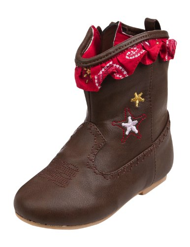 Disney Store Toy Story Jessie Cowgirl Boots Brown Toddlers Baby (2T or 2 Toddler)