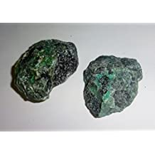 2pc #4A Raw Chrysocolla Natural Rough free form Crystal Healing Gemstone Cluster Specimen Stones