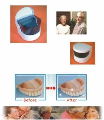 Sonic Denture Cleaner/ Clean Dentures Professionally
