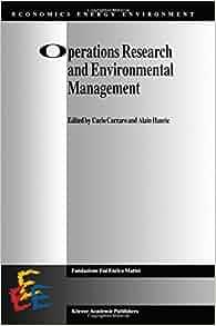 ): Carlo Carraro, Alain Haurie: 9789401065450: Amazon.com: Books