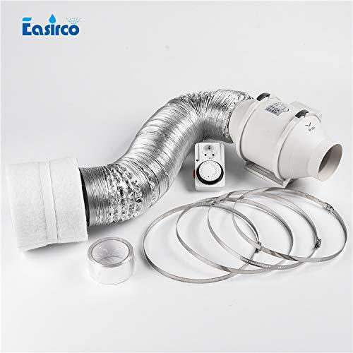 HAOMAO 1 Set o 5'' Fan Filter Combo. Ventilation Equipment for Grow