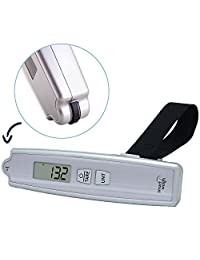 Smart Weigh 50kg/110lb Digital Postal Luggage Scale with Electronic Ruler
