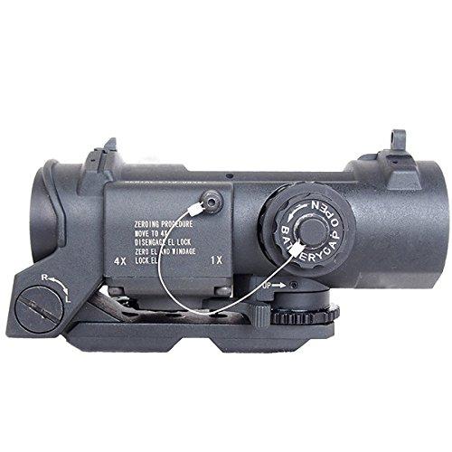 ANS Optical 4倍固定 ELCAN SPECTOR DR スコープ BK dts-009bk-02 B01ASLGEXC