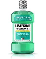 Listerine Freshburst Antiseptic Mouthwash For Bad Breath...