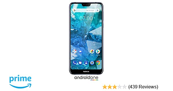 Nokia 7 1 - Android 9 0 Pie - 64 GB - Dual Camera - Dual SIM Unlocked  Smartphone (Verizon/AT&T/T-Mobile/MetroPCS/Cricket/H2O) - 5 84