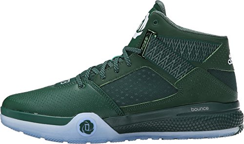 adidas D Rose 773 III Mens Basketball Shoe 11,5 Vert-Noir-Blanc