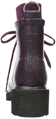 Ilse JacobsenRUB62 - botas de goma forradas y de caño bajo Mujer Rojo - Bordo