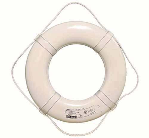 (Cal June USCG Approved Ring Buoy (30- Inch Diameter, White))