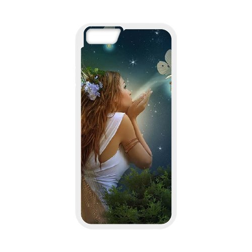 "LP-LG Phone Case Of Night Fairy For iPhone 6 Plus (5.5"") [Pattern-5]"