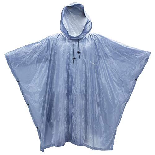 Frogg Toggs Xtreme Lite Rain Poncho, Blue, One Size Fits Most