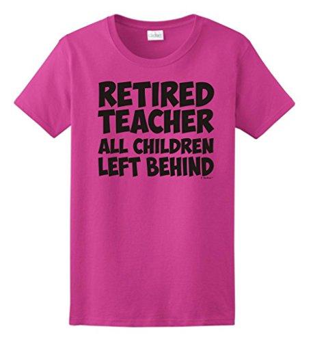 Retired Teacher Children Behind T Shirt