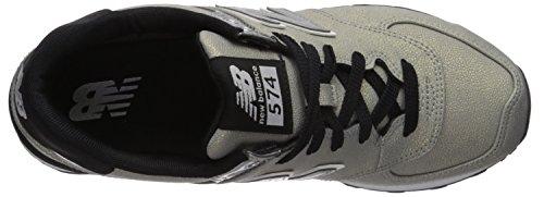 Sneaker Silver New 574v1 Women's Balance Metallic Black 6wZZUqaHA