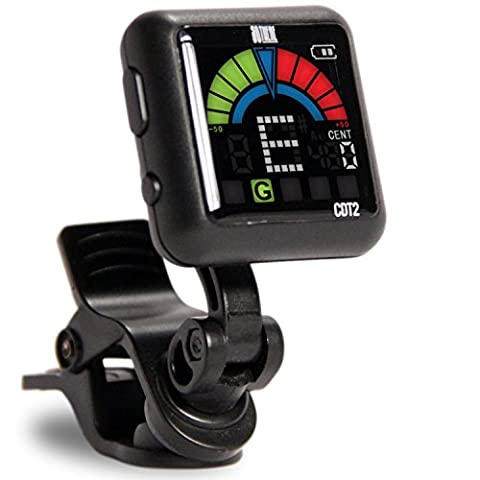 So There Rechargeable Clip-on Tuner for Guitar, Bass, Ukulele, Violin & Other Stringed Instruments (Cable De Guitarra Fender)