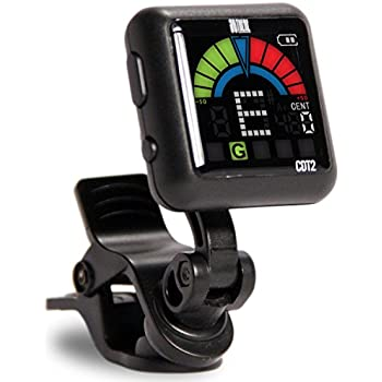 So There Rechargeable Clip-on Tuner for Guitar, Bass, Ukulele, Violin & Other Stringed Instruments