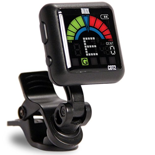 - So There Rechargeable Clip-on Tuner for Guitar, Bass, Ukulele, Violin & Other Stringed Instruments