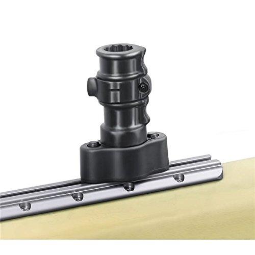 (RAM MOUNTS (RAP-383-AAPU Adapt-A-Post Quick Release Track Base (Track Dimensional Range: .250