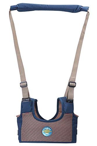 Baby Polyester Walking Helper Adjustable Handheld Walk Learning Trainer Belt - - Helper Spring Adjustable