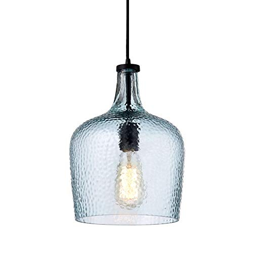 Mouth Blown Glass Pendant Light in US - 4