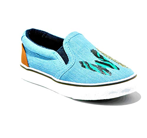 - Cat & Jack Toddler Boys' Tom Wild Twin Gore Sneakers (11) Blue