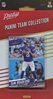 Minnesota Vikings 2017 Prestige Factory Sealed Team Set with Sam Bradford, Dalvin Cook Rookie Card plus