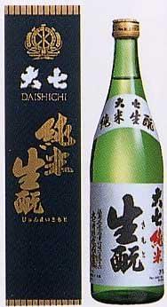 大七酒造 純米生もと 720ml