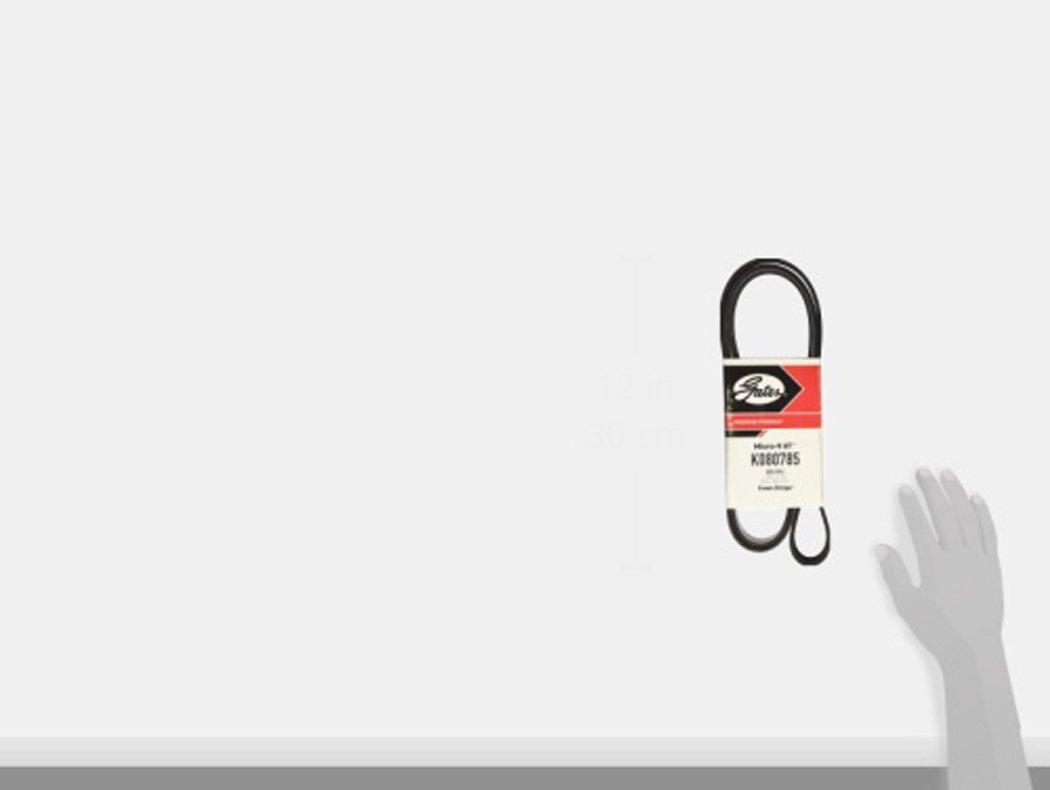 Gates K080785 Micro-V Belt
