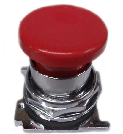 012503 Eaton 10250t122 30mm Mushroom Head Pushbutton, Red 30.5 Mm, Heavy-duty Pushbutton Operator, Non-illuminated, Mushroom Head, 38 Mm Diameter, Red, Momentary, No Light Unit. Nema Rating: 3, 3r, 4, 4x, 12, 13.