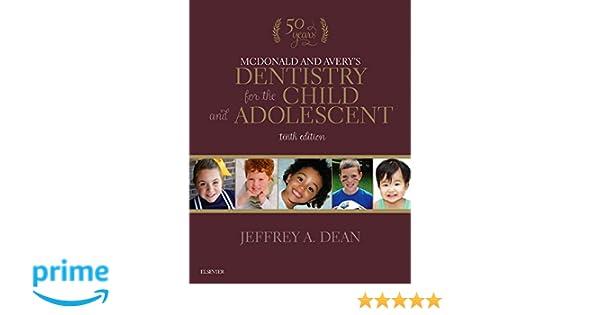 Mcdonald Pediatric Dentistry Book