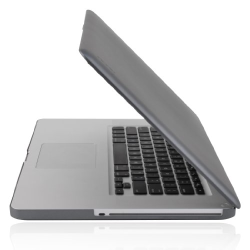 Incipio MacBook Pro IM-224 15-Inch Feather Ultralight Hard Shell Case - Matte Iridescent Gunmetal