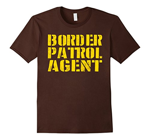 Mens Border Patrol Shirt Easy Lazy Halloween Costume Tshirt Large (Hilarious Halloween Costumes For College Students)