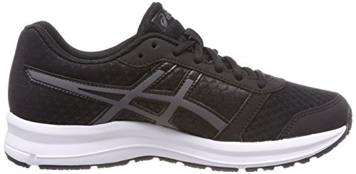 9 9097 white black Para carbon Asics Zapatillas Mujer Patriot Negro Running De 5TH4aq