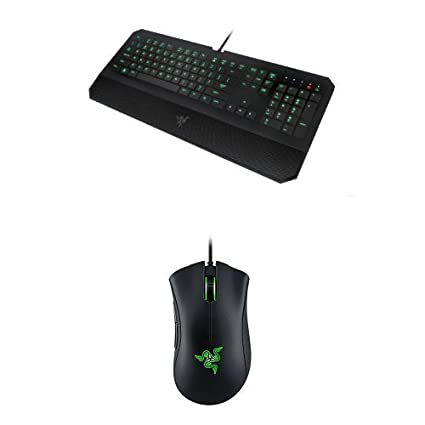 307d2a9f508 Amazon.com: Razer DeathStalker Expert Keyboard and Razer DeathAdder Chroma  Gaming Mouse: Computers & Accessories