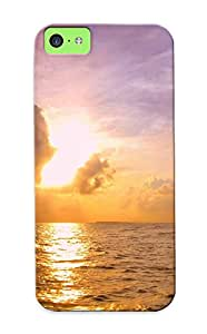 Awesome Case Cover/iphone 5c Defender Case Cover(sunset ) Gift For Christmas