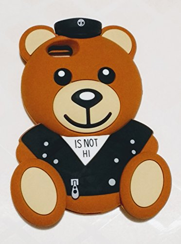 [해외]아이폰 SE 케이스 부 킷 셀 슈퍼 귀여운 3D 모 치 노 해군 곰 보호 실리콘 케이스 커버 애플 아이폰 55SSE (안녕) + 부 킷 셀 금속 스타일러스 펜 / iPhone SE CaseBukit Cell Super Cute 3D Mochino NAVY Bear Protective Silicone Case Cover for ...