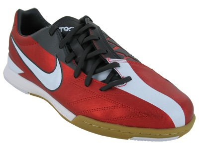Nike T90 Shoot IV IC - Challenge Red/White/Anthr