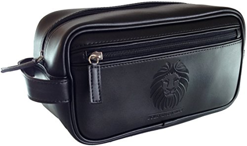 Men's Hudson Travel Toiletry Bag Shaving Dopp Kit, Black, One Size. $ Trending at $ Travel Shave Toiletry Kit With Waterproof Interior Heavyweight Canvas $ Trending at $ Perry Ellis Portfolio Black Mens Top-Zip Water Resistant Travel Bag $