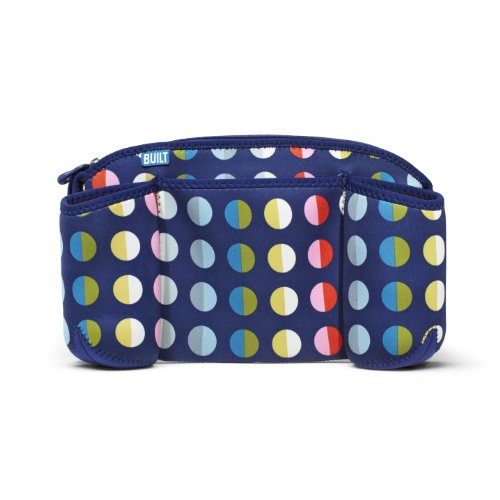 Built Day Tripper Stroller Organizer, in Baby Dot Number 9