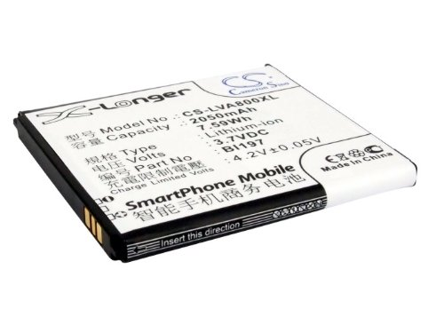 Cameron Sino 2050mAh/7.59Wh Replacement Battery for Lenovo S750 - S750 Replacement