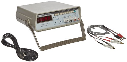 Instek GOM-801H Four-Input Digital Milliohm Meter, 7 Test Ranges, 20 Kilohms Resistance (High Resolution Milliohm Meter)