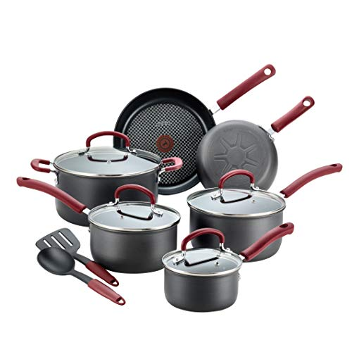 T-fal B004SC63 Ultimate Hard Anodized Dishwasher Safe Nonstick Cookware Set
