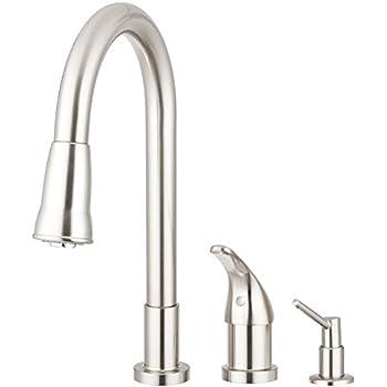 Kohler K 647 Vs Simplice Pull Down Kitchen Sink Faucet