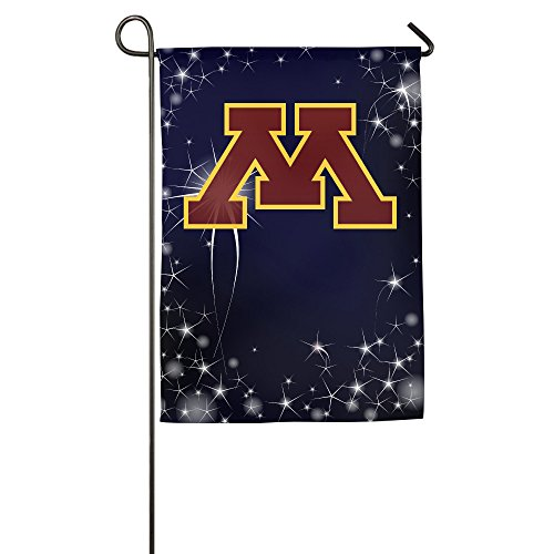 Umison Minnesota M Logo Decorative Garden Flag Classic Outdoor Flag 1827inch ()