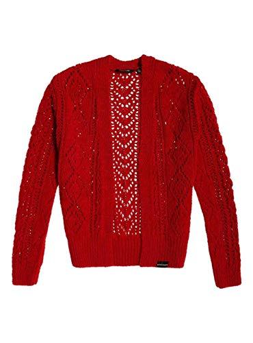Les Rouge Textured Amira Pour Femme Veste Superdry wRHFqBf1